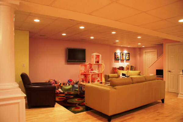basement remodeling home improvement contractor residential