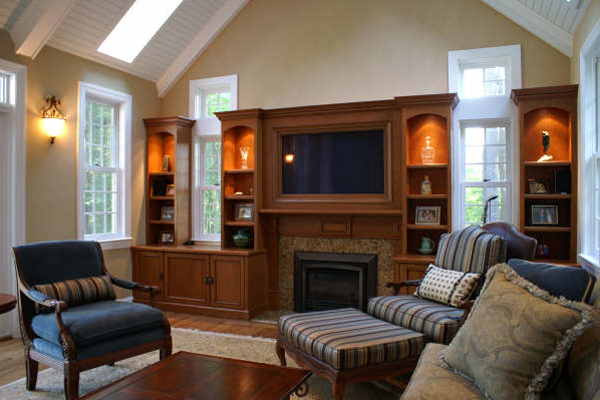 Family room renovations home improvement contractor for Family room renovations